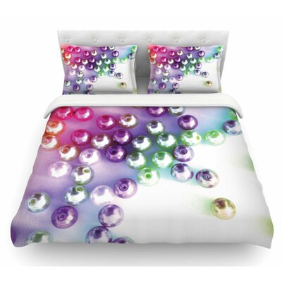 Pearl by Louise Machado Featherweight Duvet Cover Size: King