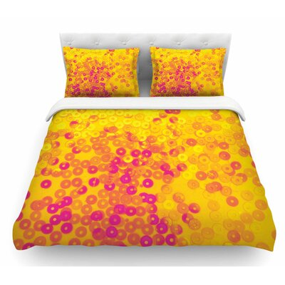 Dots by Louise Machado Mixed Featherweight Duvet Cover Size: King