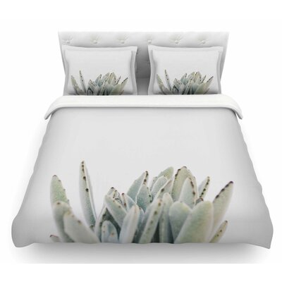 Succulent 3 by Kristi Jackson Photography Featherweight Duvet Cover Size: King