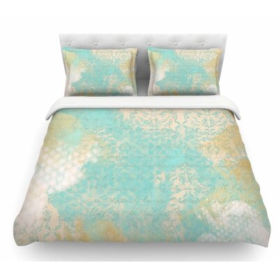 Vintage II by Li Zamperini Featherweight Duvet Cover Size: Queen