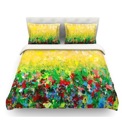 My Paintings by Ebi Emporium Featherweight Duvet Cover Size: Queen