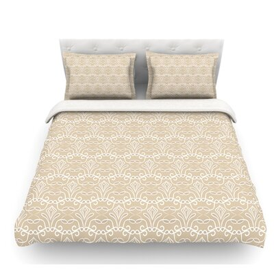Soft Deco by Julia Grifol Featherweight Duvet Cover Size: King