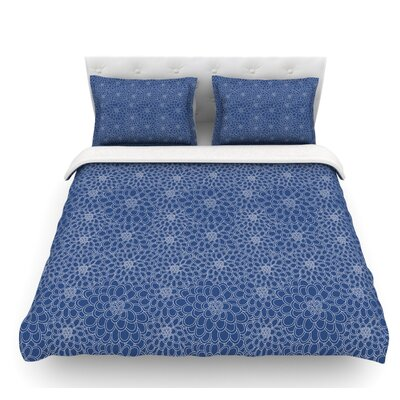 Flowers by Julia Grifol Featherweight Duvet Cover Size: Twin