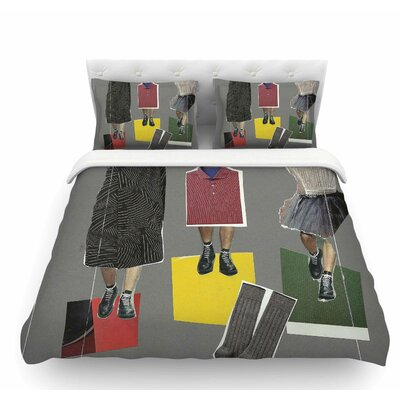 Fashion by Jina Ninjjaga Pop Art Featherweight Duvet Cover Size: Queen
