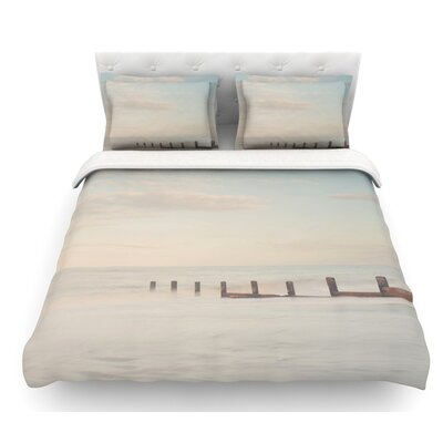 The Rising Tide by Laura Evans Featherweight Duvet Cover Size: Queen