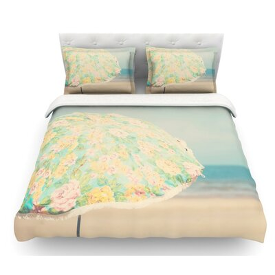 A Summer Afternoon by Laura Evans Featherweight Duvet Cover Size: King