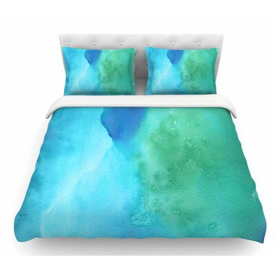 Marine by Li Zamperini Featherweight Duvet Cover Size: Queen