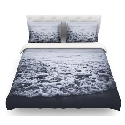 Out to Sea by Leah Flores Coastal Featherweight Duvet Cover Size: Queen