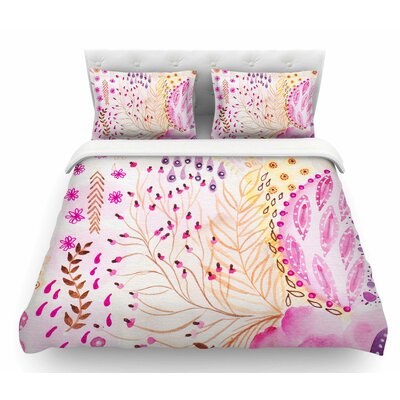 Delicada by Li Zamperini Featherweight Duvet Cover Size: Twin