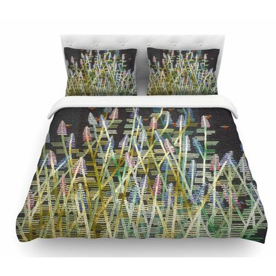 Russian Sage by Laura Nicholson Featherweight Duvet Cover Size: Twin