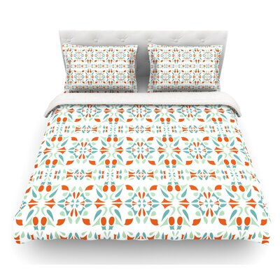 Italian Kitchen by Miranda Mol Featherweight Duvet Cover Size: Twin
