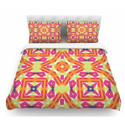 Summer Vibes by Miranda Mol Featherweight Duvet Cover Size: King
