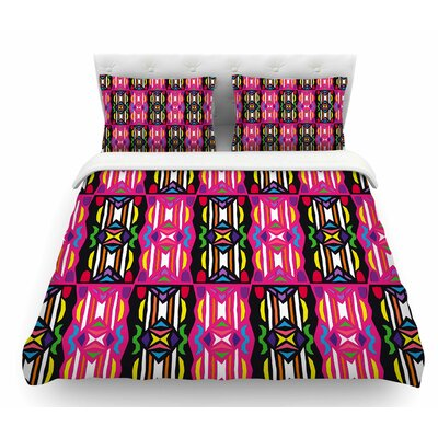 Lets Party by Miranda Mol Featherweight Duvet Cover Size: King