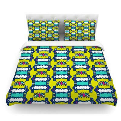 Party Vibes by Miranda Mol Featherweight Duvet Cover Size: Queen