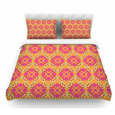 Jazzy by Miranda Mol Featherweight Duvet Cover Size: Queen