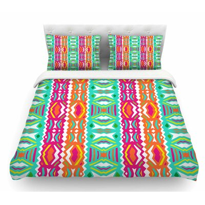 Ethnic Summer by Miranda Mol Featherweight Duvet Cover Size: King