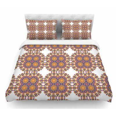 Ornamental Tiles by Miranda Mol Featherweight Duvet Cover Size: Twin