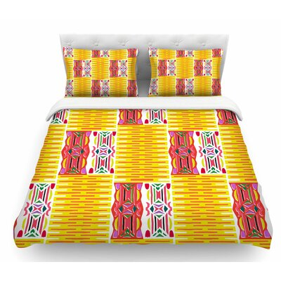 Cool Summer by Miranda Mol Featherweight Duvet Cover Size: King