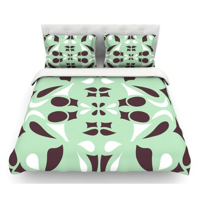 Swirling by Miranda Mol Featherweight Duvet Cover Size: King