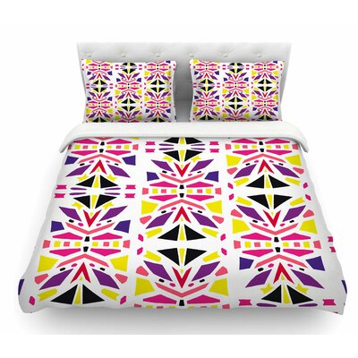 Summer Mood by Miranda Mol Featherweight Duvet Cover Size: King