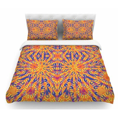 Azulejo by Miranda Mol Featherweight Duvet Cover Size: Queen