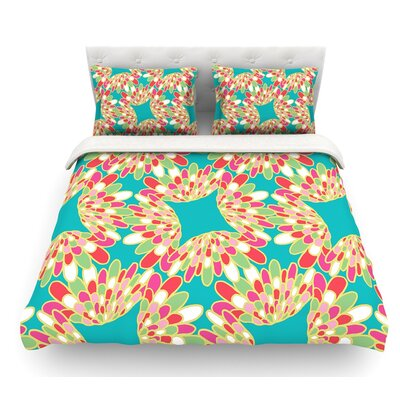 Wings by Miranda Mol Featherweight Duvet Cover Size: Queen
