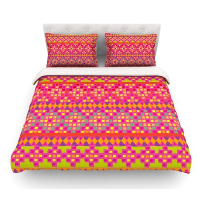 Mexicalli by Nika Martinez Featherweight Duvet Cover Size: King