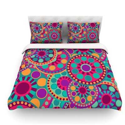 Valencia by Nika Martinez Featherweight Duvet Cover Size: Queen, Fabric: Woven Polyester
