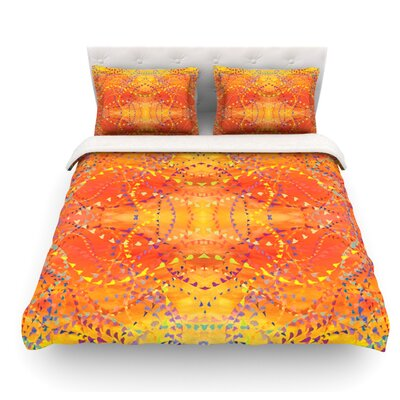 Sunrise by Nikposium Featherweight Duvet Cover Size: Queen