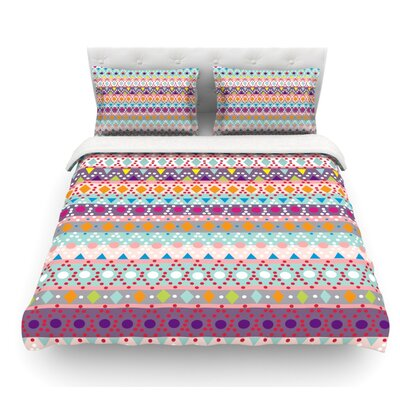 Ayasha by Nika Martinez Featherweight Duvet Cover Size: Twin