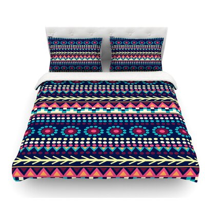 Aiyana by Nika Martinez Featherweight Duvet Cover Size: Queen