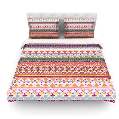 Chenoa by Nika Martinez Featherweight Duvet Cover Size: King