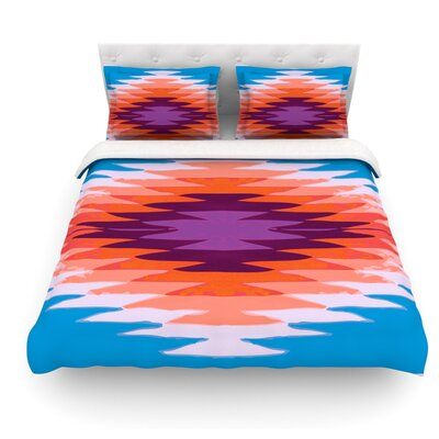 Surf Lovin Hawaii by Nika Martinez Featherweight Duvet Cover Size: Twin