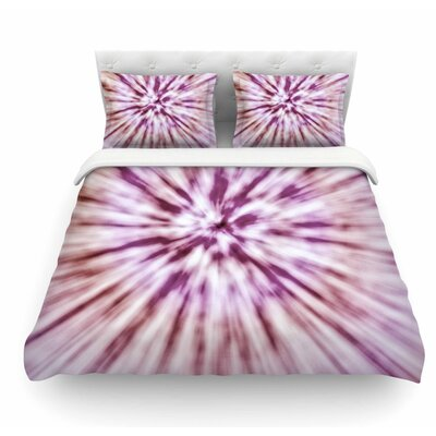 Spring Tie Dye by Nika Martinez Urban Featherweight Duvet Cover Size: Queen