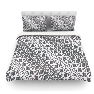 Lace by Miranda Mol Featherweight Duvet Cover Size: Queen, Fabric: Cotton