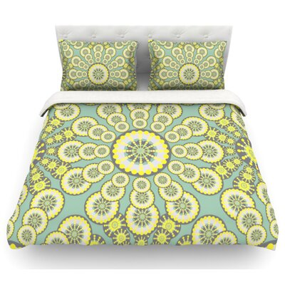 Equinox by Miranda Mol Featherweight Duvet Cover Size: King, Fabric: Lightweight Polyester