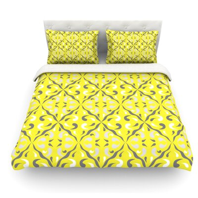 Seedtime by Miranda Mol Featherweight Duvet Cover Size: Twin, Fabric: Woven Polyester