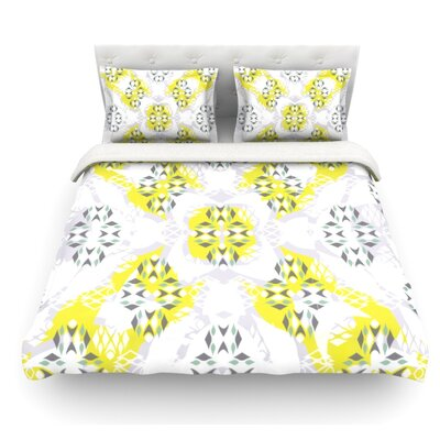 Vernal Season by Miranda Mol Featherweight Duvet Cover Size: Twin, Fabric: Lightweight Polyester