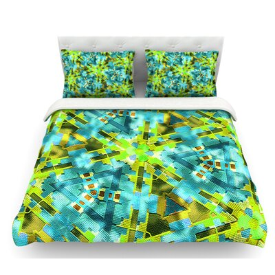 Pollenesia by Michael Sussna Featherweight Duvet Cover Size: Queen, Fabric: Woven Polyester