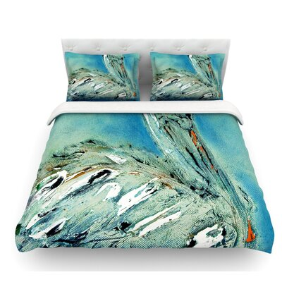 Drifter by Josh Serafin Featherweight Duvet Cover Size: Queen, Fabric: Woven Polyester