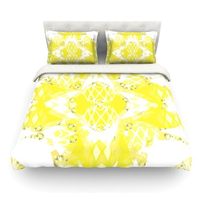 Citrus Spritz by Miranda Mol Featherweight Duvet Cover Size: King, Fabric: Cotton
