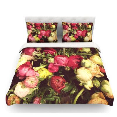 Ranunculus by Jillian Audrey Featherweight Duvet Cover Size: King