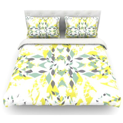 Springtide by Miranda Mol Featherweight Duvet Cover Size: King, Fabric: Lightweight Polyester