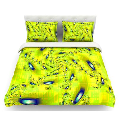 Synchronized Swimming by Michael Sussna Featherweight Duvet Cover Size: Twin, Fabric: Woven Polyester