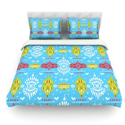 Deco Row by Miranda Mol Featherweight Duvet Cover Size: Queen, Fabric: Woven Polyester