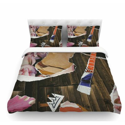 Autumn by Jina Ninjjaga Pop Art Featherweight Duvet Cover Size: Twin
