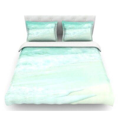 Paradise Beach by Monika Strigel Featherweight Duvet Cover Size: King