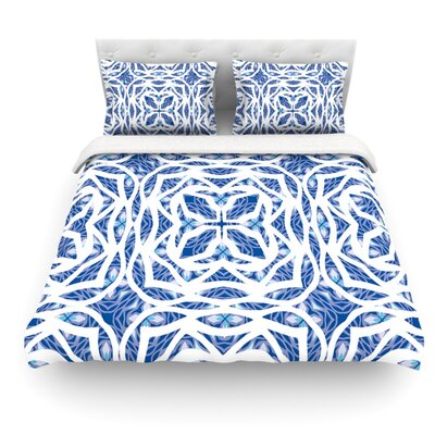 Explosion by Miranda Mol Featherweight Duvet Cover Size: Full/Queen, Fabric: Woven Polyester