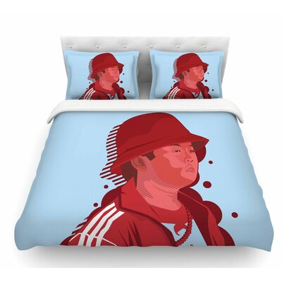 F.O.B by Just L Featherweight Duvet Cover Size: Queen