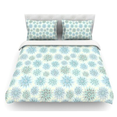 My Delicate Flowers by Julia Grifol Featherweight Duvet Cover Size: King